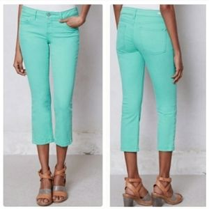 Anthropologie • Pilcro Aqua Stet Cropped Jeans